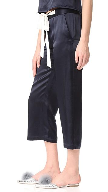 Jenni Kayne Silk Drawstring Pants
