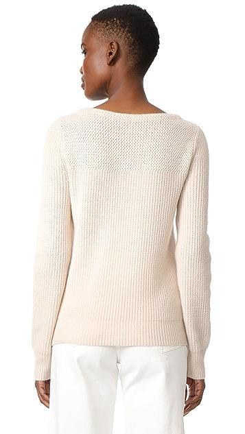 Jenni Kayne Boat Neck Cashmere Sweater
