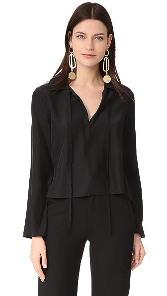 Jenni Kayne Wing Collar Top
