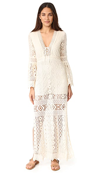 Jens Pirate Booty Chaouen Maxi Dress - Sagrada Powder