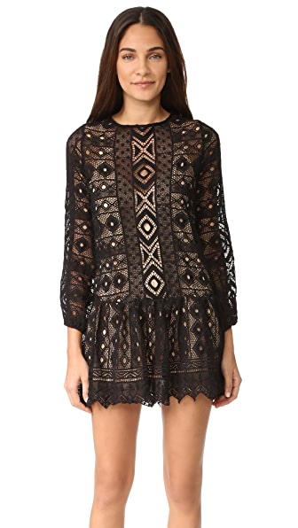 Jens Pirate Booty Echo Mini Dress - Black