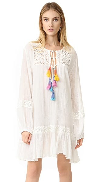 Jens Pirate Booty Malva Cover Up Dress - White/Multi