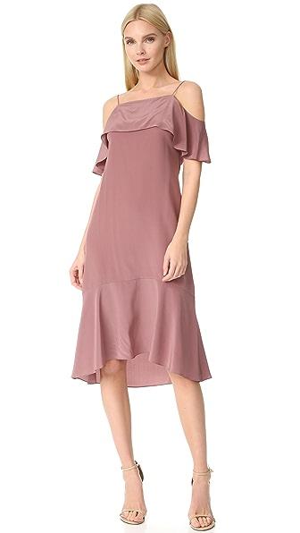 JENNY PARK Aster Peplum Dress