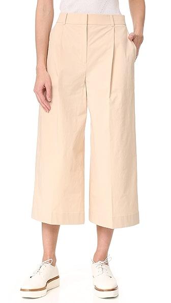 JENNY PARK Phyllis Wide Leg Crop Pants