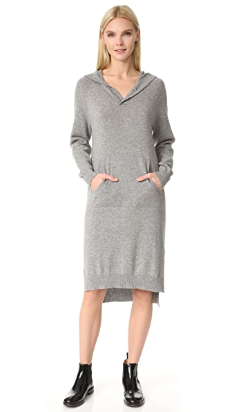 JENNY PARK Darby Hooded Sweater Dress