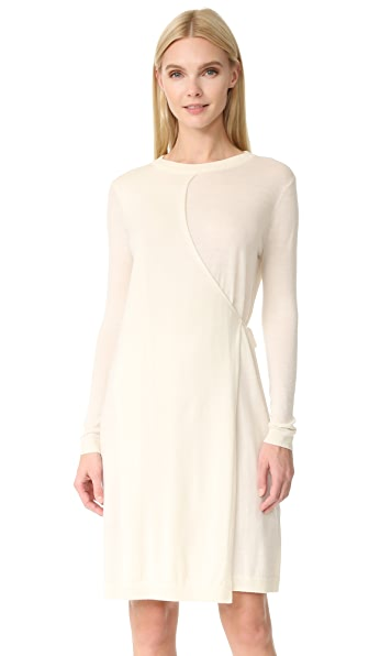 JENNY PARK Hether Layered Knit Dress