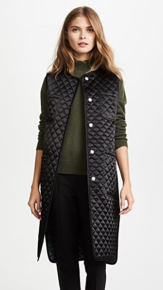 JENNY PARK Kassia Reversible Quilted Vest