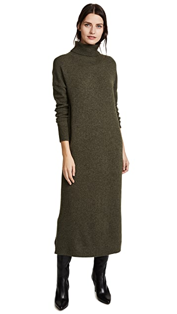 JENNY PARK Elroy Turtleneck Maxi Dress