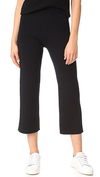 JENNY PARK Ebody Wide Leg Knit Pants
