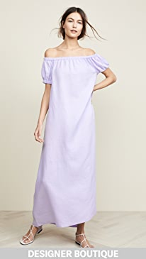 139d480e75e7 JENNY PARK. Serenity Off Shoulder Maxi Dress