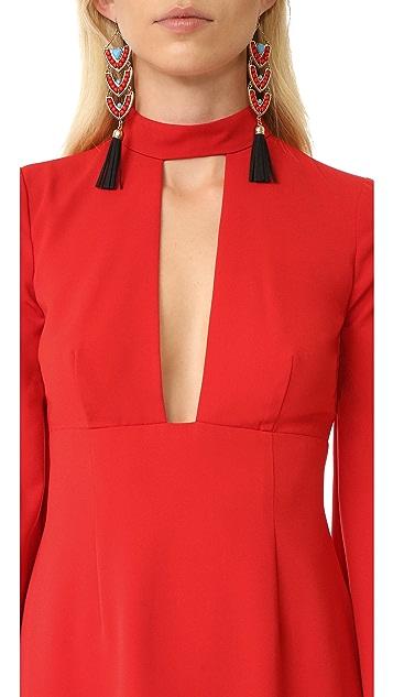 Jill Jill Stuart Deep V Dress