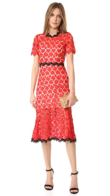 Jill Jill Stuart Floral Lace Dress