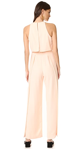 Jill Jill Stuart High Neck Sleeveless Jumpsuit