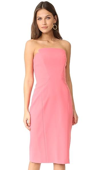 Jill Jill Stuart Strapless Dress In Hibiscus
