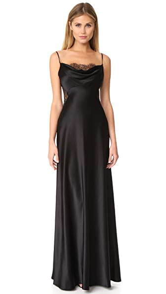 Jill Jill Stuart Lace Inset Gown at Shopbop