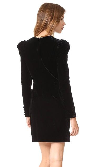 Jill Jill Stuart Velvet Dress