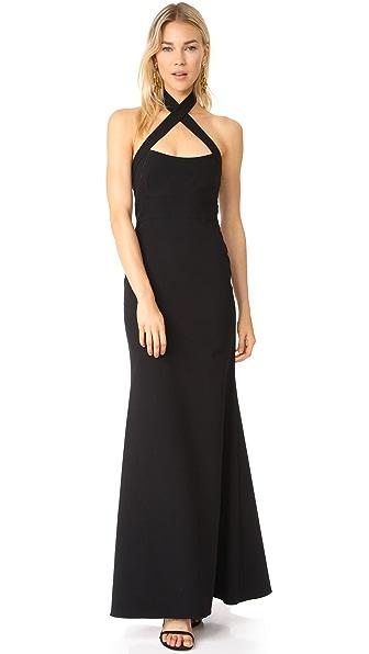 Jill Jill Stuart Cross Gown - Black