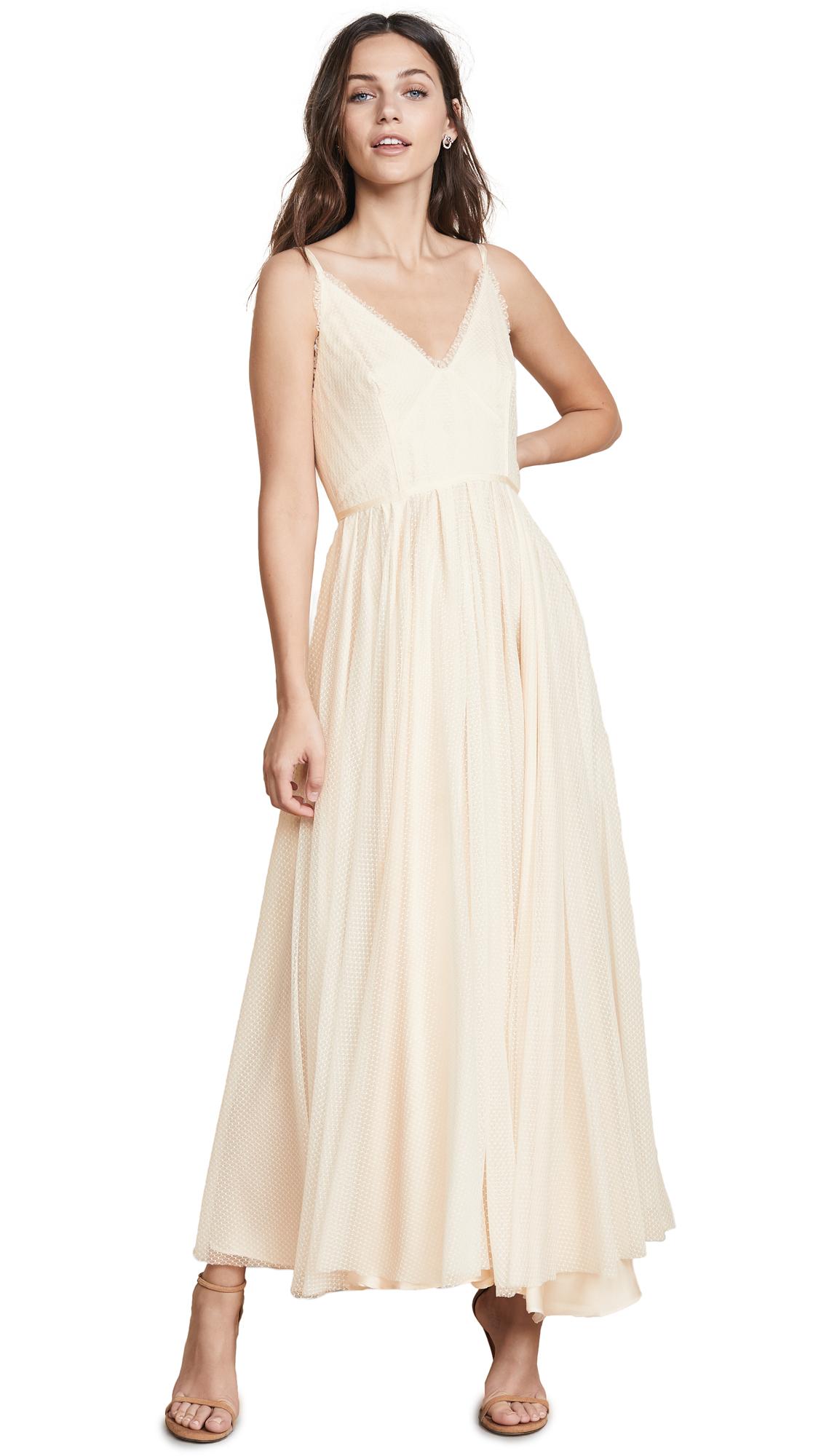 Jill Jill Stuart Frill Trimmed Dress - Ivory