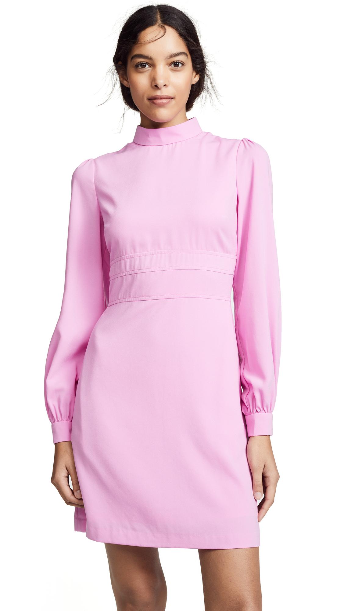 Jill Jill Stuart Puff Sleeve Dress - Sugar Pink