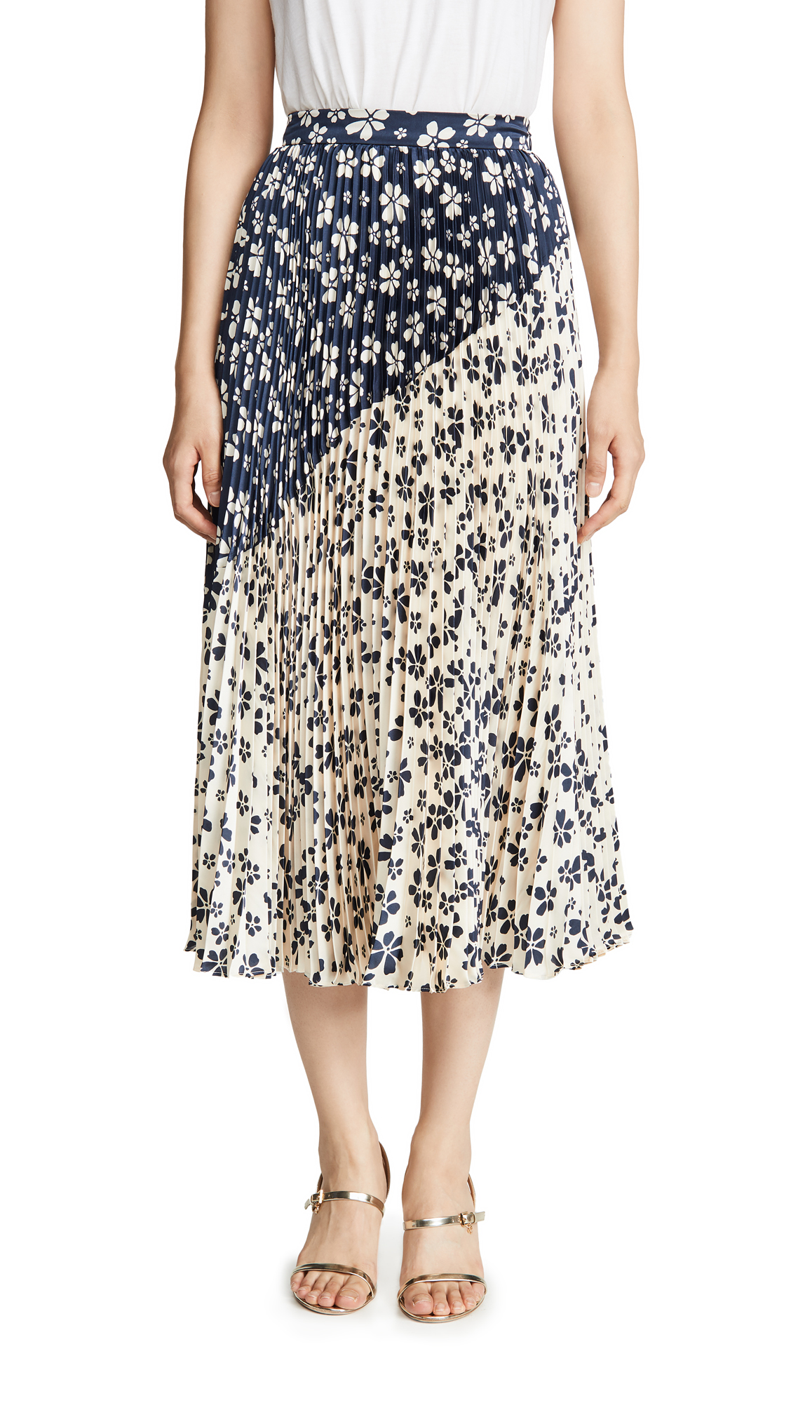 Buy Jill Jill Stuart online - photo of Jill Jill Stuart Two Tone Skirt
