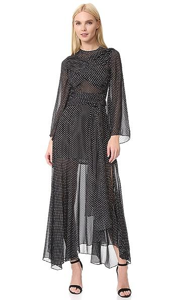 Jill Stuart Stella Dress - Noir/Chalk