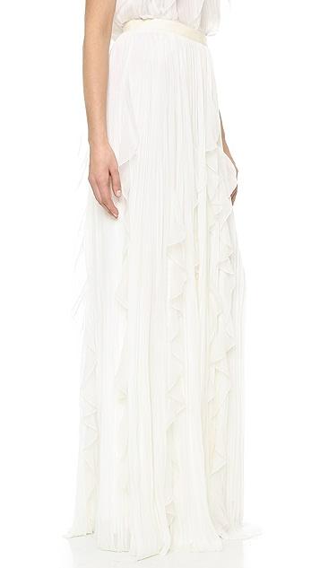 J. Mendel Floor Length Skirt