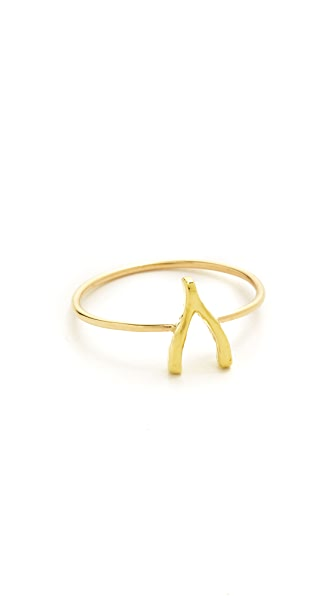 Jennifer Meyer Jewelry Mini Wishbone Ring