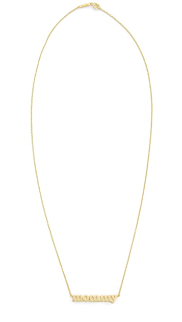 Jennifer Meyer Jewelry Mommy Necklace