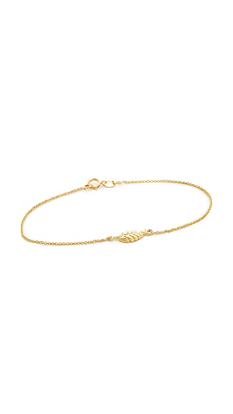 Jennifer Meyer Jewelry Mini Leaf Bracelet