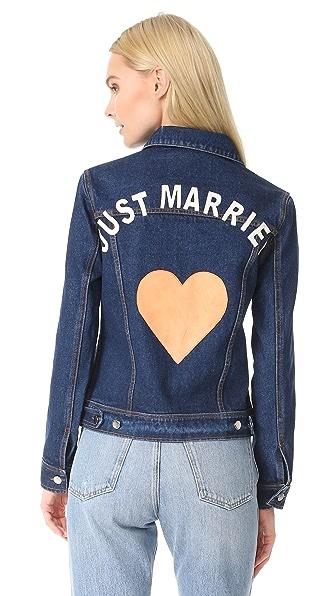 JN by JN LLOVET Just Married Denim Jacket - Blue