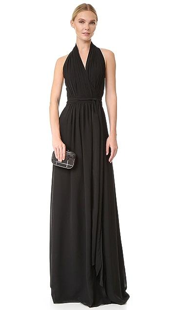 Joanna August Amber Halter Wrap Dress