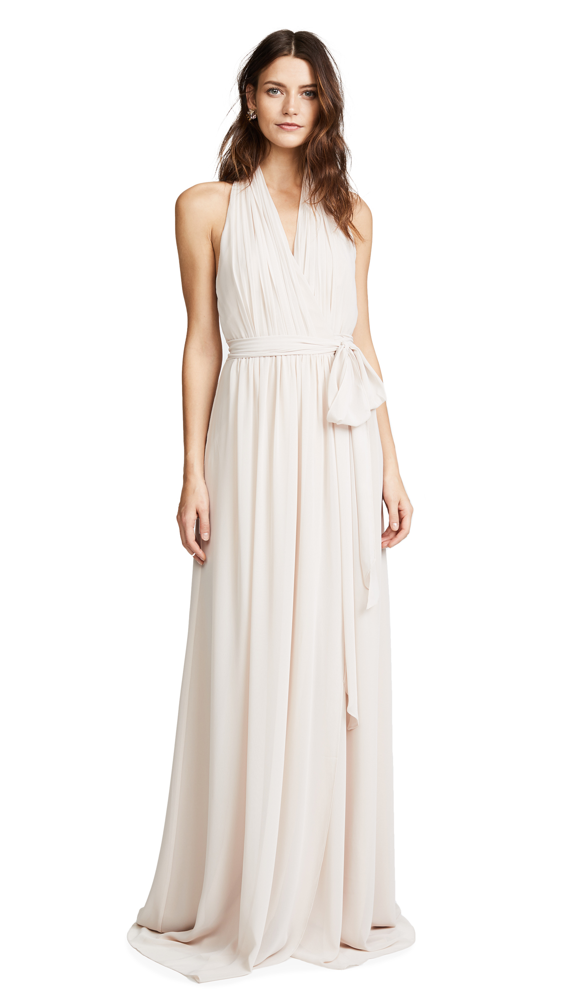 Joanna August Amber Halter Wrap Dress - All TomorrowS Parties