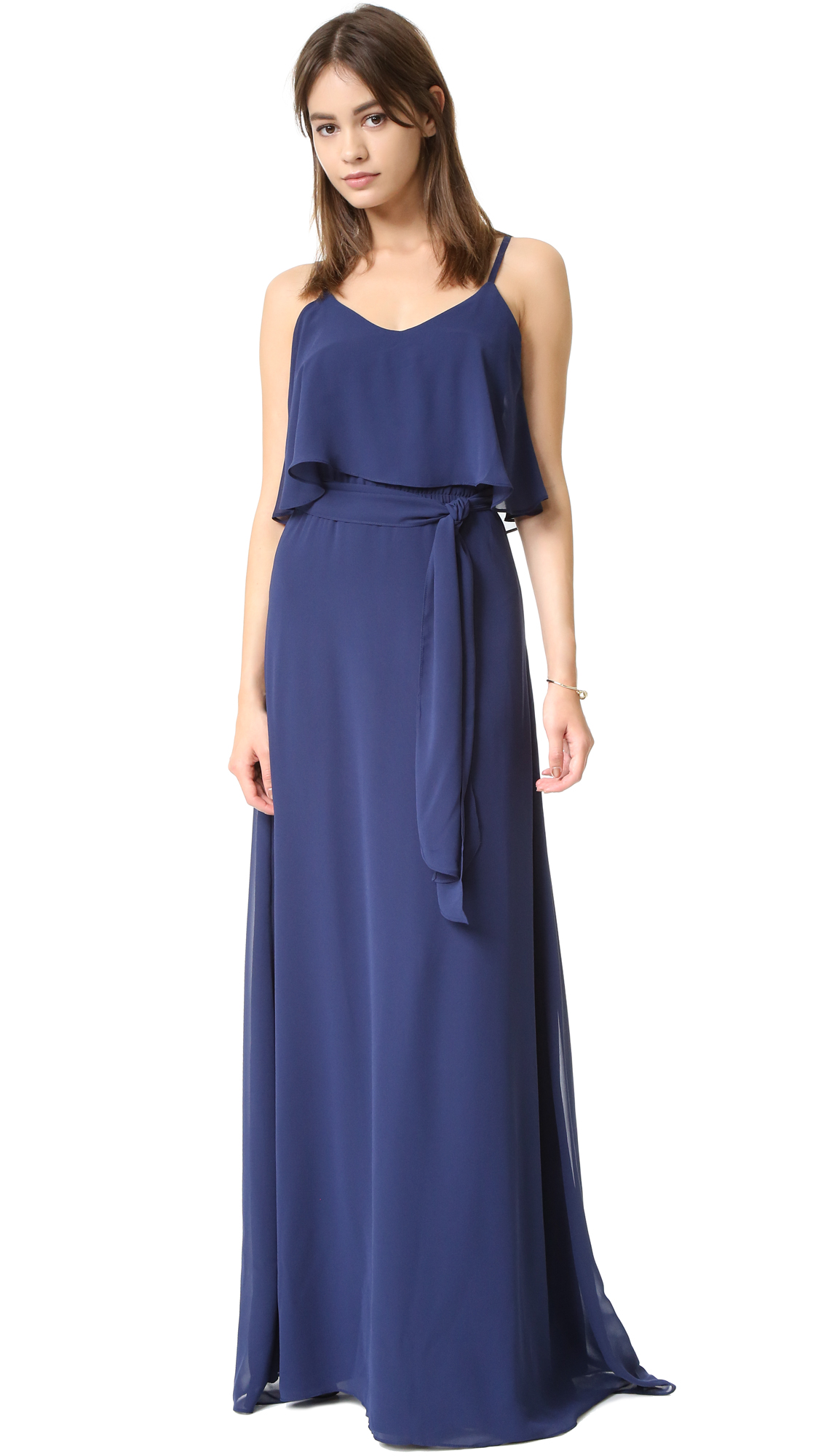 Joanna August Dani Maxi Dress - Tangled Up In Blue