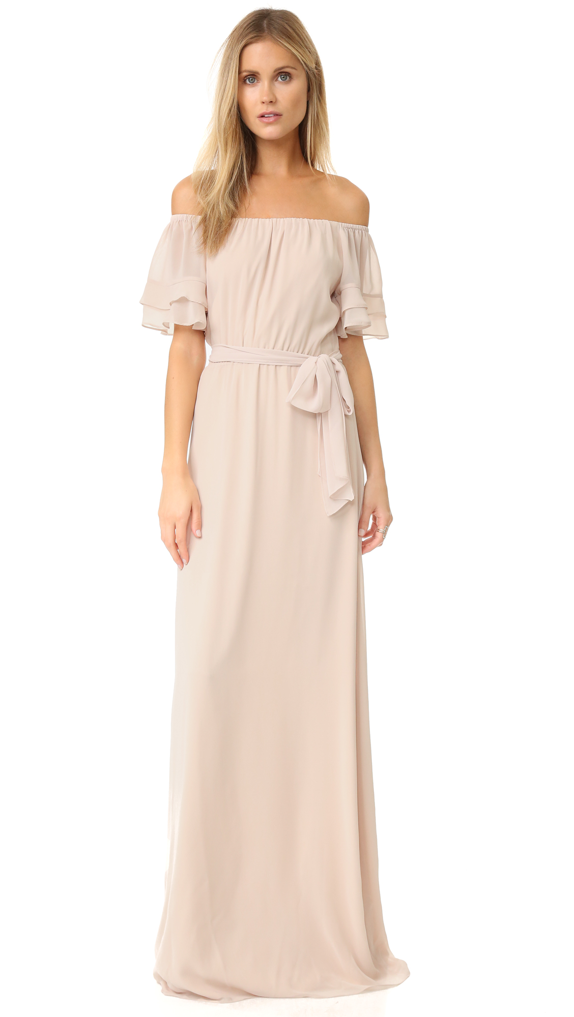 Joanna August Maggie Long Dress - All TomorrowS Parties