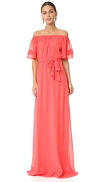 Joanna August Maggie Long Dress In Summertime