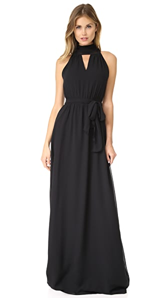 Joanna August Riggs Long Dress - Black