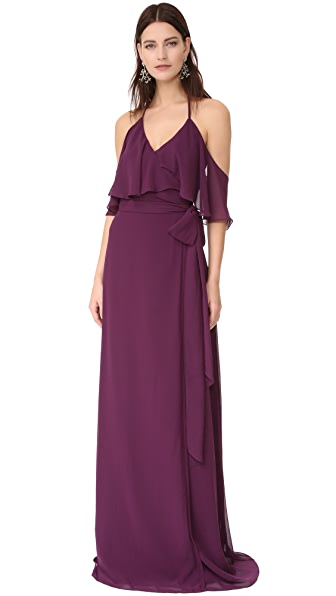 Joanna August Lauren Halter Gown