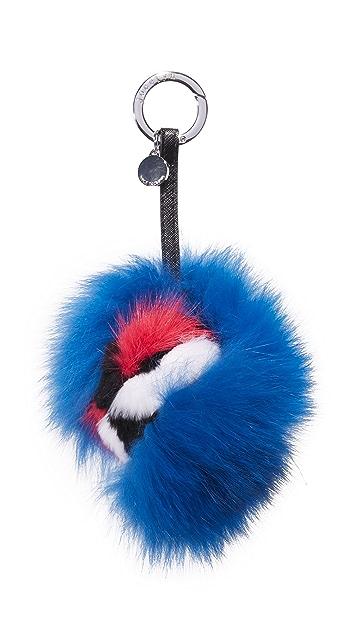 Jocelyn Monster Fur Bag Charm