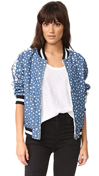 Jocelyn Reversible Denim Bomber Jacket | SHOPBOP