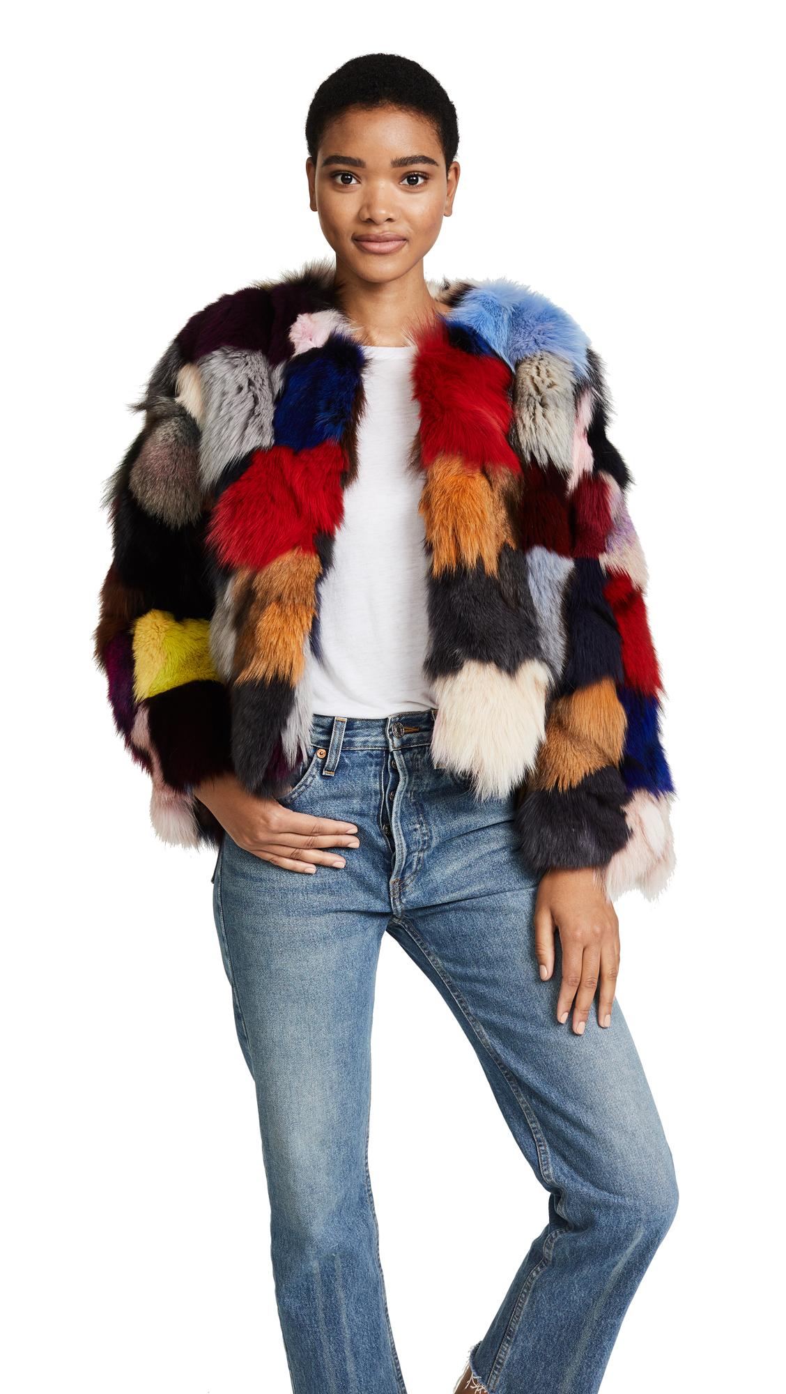 Jocelyn Fox Sections Jacket - Bright Multi