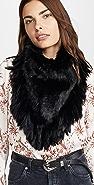 Jocelyn Long Hair Rabbit Knitted Bandana