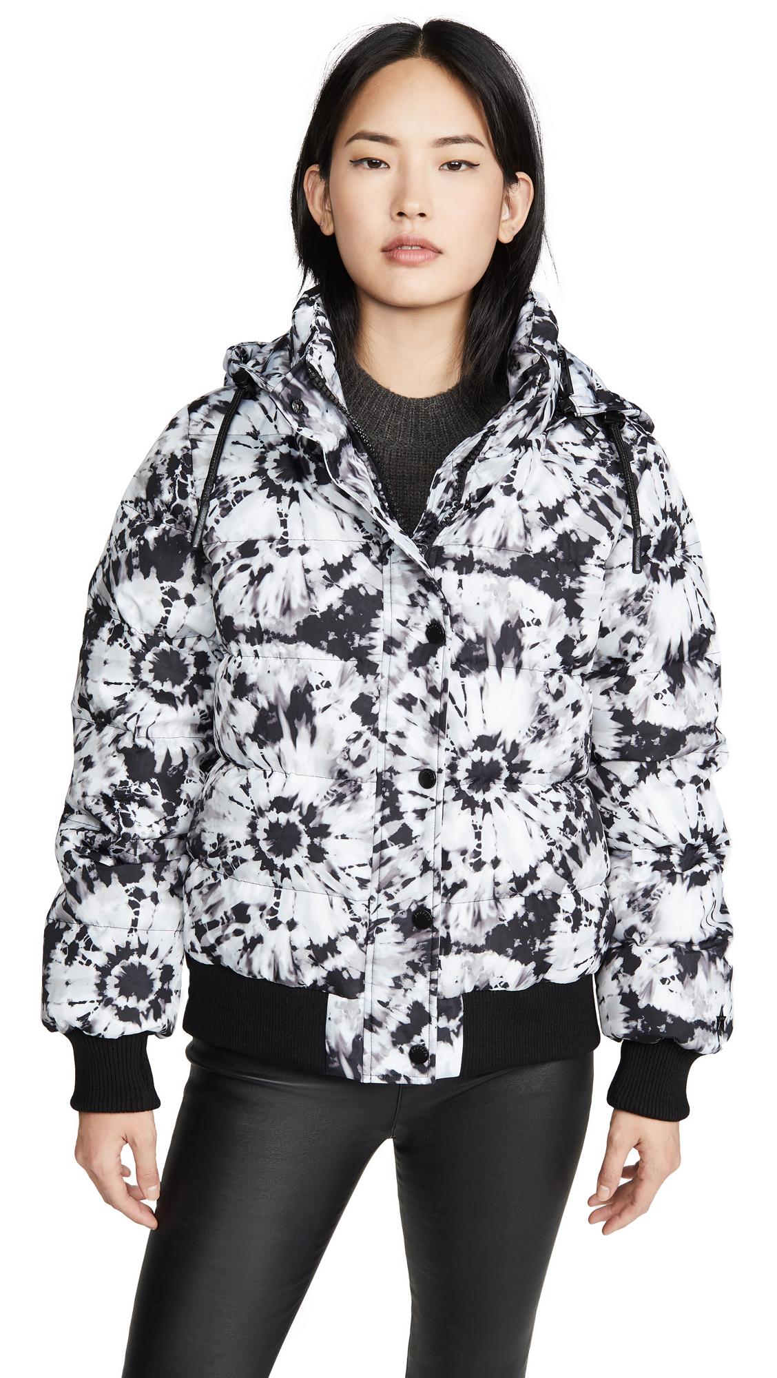 Buy Jocelyn online - photo of Jocelyn Tie Dye Puffer Jacket