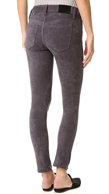 Joe's Jeans Flawless Icon Ankle Mid Rise Skinny Jeans