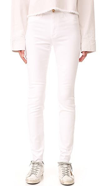 Charlie High Rise Skinny Jeans