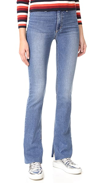 Micro Flare High Rise Jeans