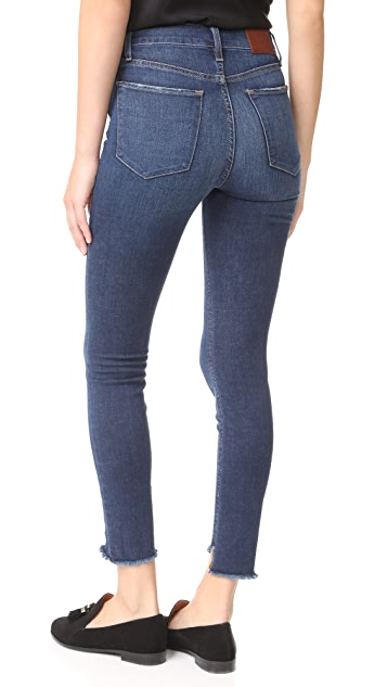 Joe's Jeans Charlie High Rise Skinny Ankle Jeans