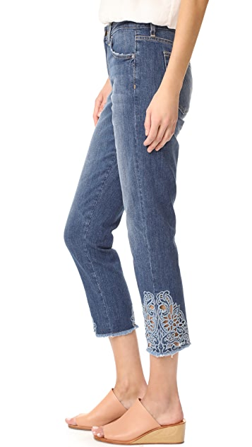Joe's Jeans Smith Crop Straight Jeans