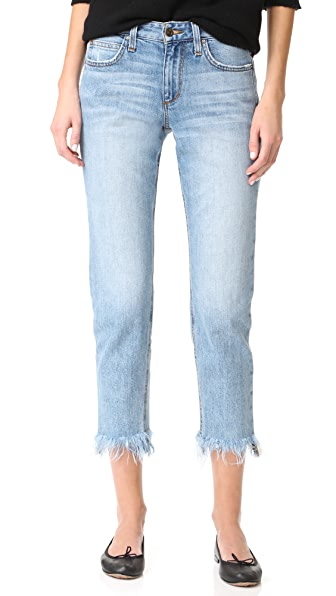 Smith Mid Rise Straight Ankle Jeans