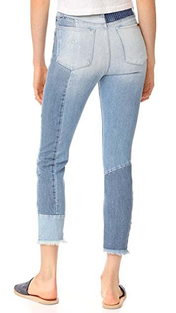 Joe's Jeans The Bella Straight Crop Jeans