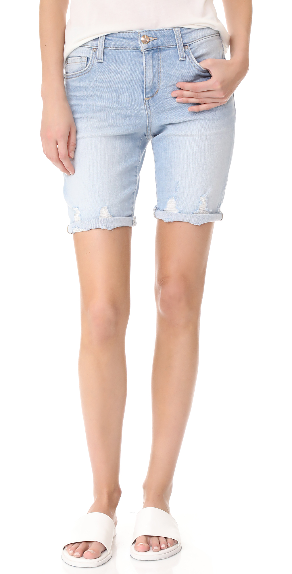 The Finn Bermuda Cutoff Shorts Joe's Jeans